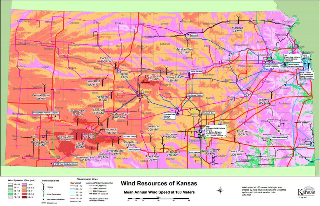 Kansas Wind Resources